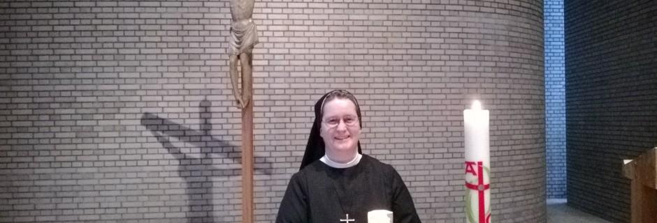Professerneuerung Schwester Klara Jolanda