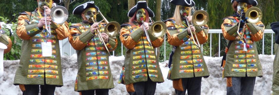 Die Katzenmusik Brunnen bringt dem Klosterhügel mit ihrer Musik zum Klingen