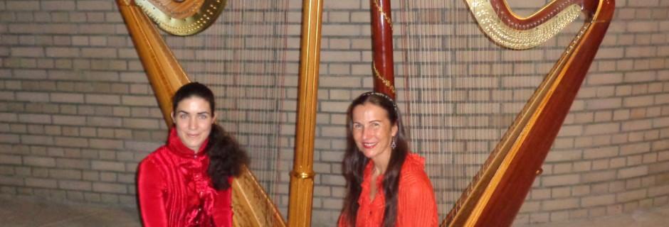 Konzert Harfen-Duo
