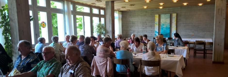 Treffen der pensionierten Mitarbeiterinnen und Mitarbeiter