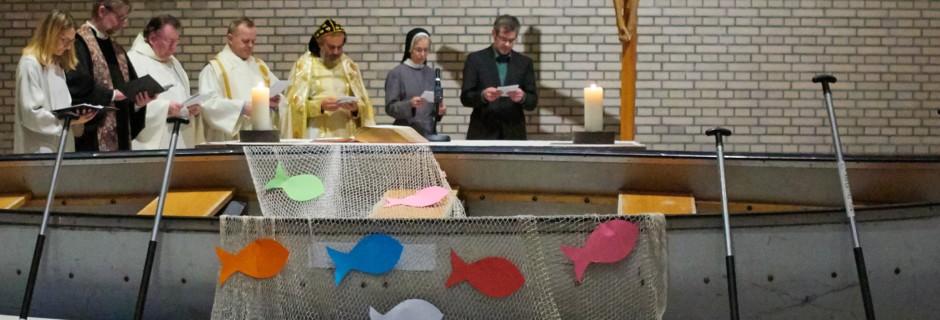 Oekumensicher Gottesdienst in der Klosterkirche Ingenbohl